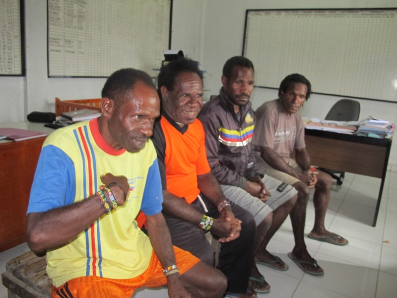 Meki Elosak Menanyakan Remisi di Lapas Wamena