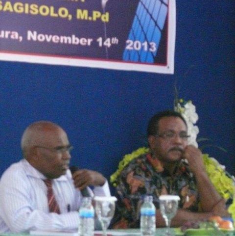 Leonard Sagisolo: Kabupaten Pemekaran Baru, Belum Tersentuh Program Badan Akreditasi Nasional.