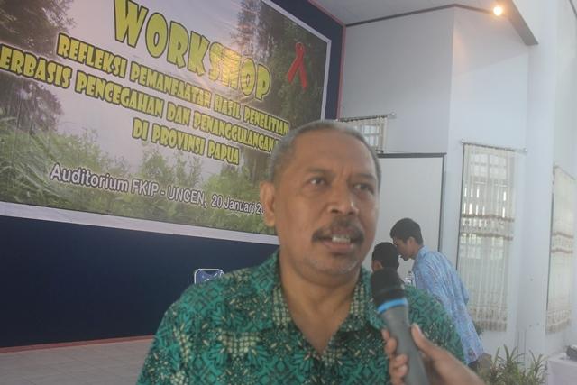 Kepala PSPHA Uncen: Persamaan Persepsi Dalam Penangulangan HIV/AIDS Di Papua