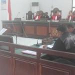 Sidang Perdana, Tindak Pidana Korupsi Dermaga Penyebrangan Kumbe 1 Merauke.