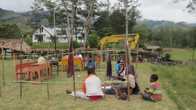 TPS di Sogokmo, Gunakan Sistem Noken