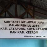 Kampanye Melawan Lupa Menuju Pilpres 2014 di Papua