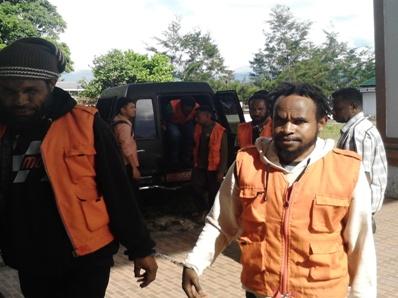 Yosep Siep Sakit, Usai Sidang di Bawa Ke RS Wamena
