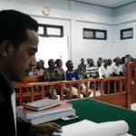 Penasehat Hukum : BAP di Penyidik Sangat Diragukan