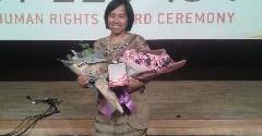 Gwangju Prize Human Rights Award 2015: Latiifah Anum Siregar