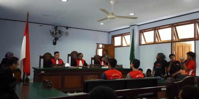 Polisi Pelaku Penganiayaan Divonis 18 bulan Penjara