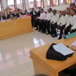 Saksi Mendatangi TKP Bersama Aparat TNI