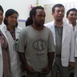 Jafrai Murib Menjalani Evaluasi di Dokter Syaraf