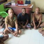 Tersangka Peristiwa Kampung Sasawa Menjalani Pemeriksaan Kembali